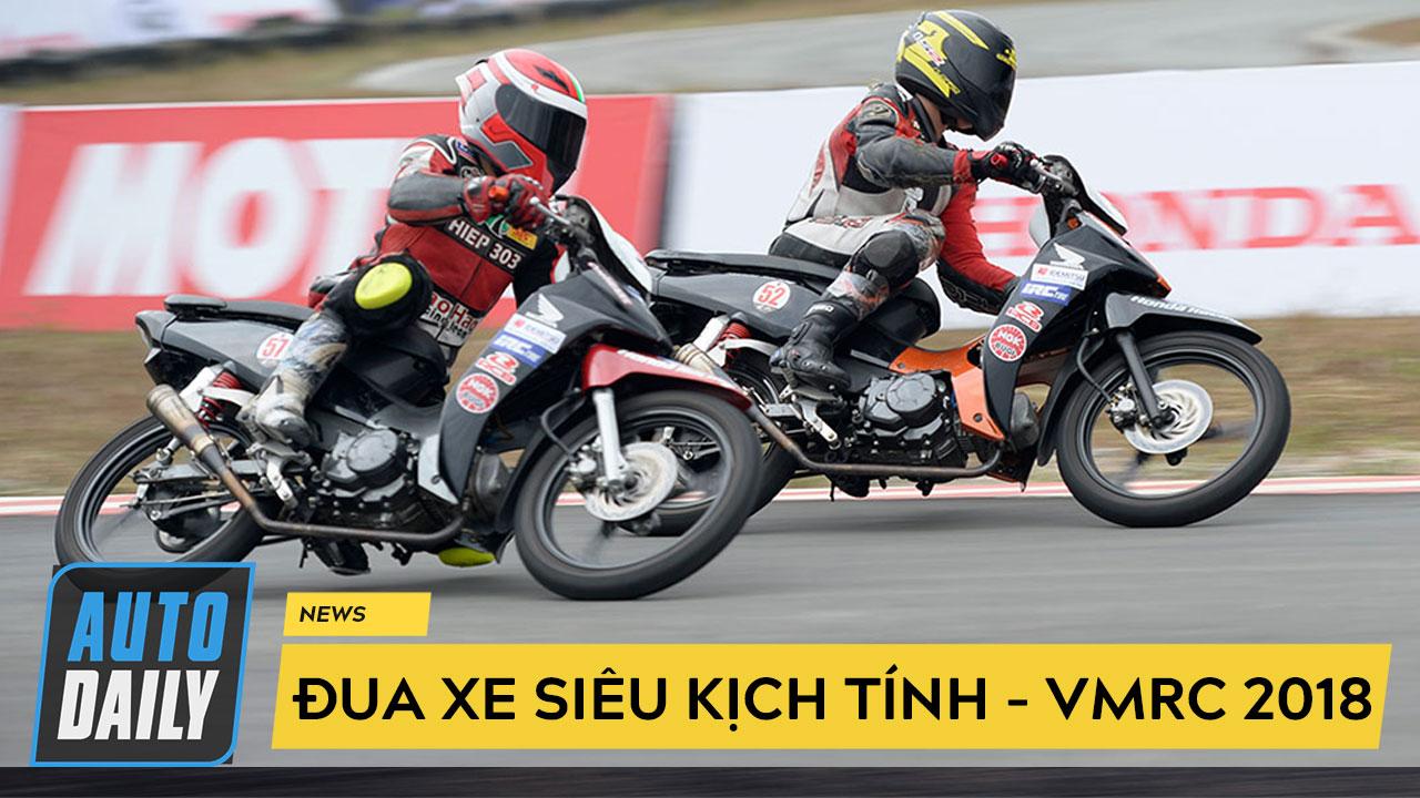 Chặng 3 Giải đua xe mô tô Việt Nam 2018: Tranh tài nghẹt thở, nhà vô địch lộ diện