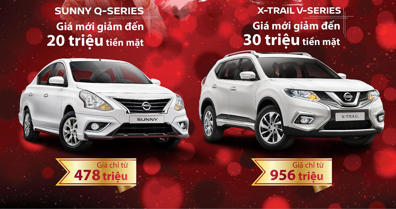 Nissan Việt Nam áp dụng giá bán đầy hấp dẫn chào năm mới