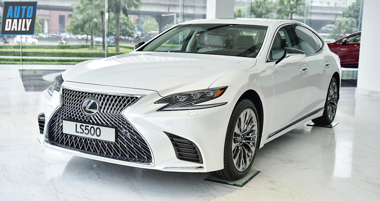 Lexus LS 2019 giá cao nhất 8,75 tỷ đồng tại Việt Nam