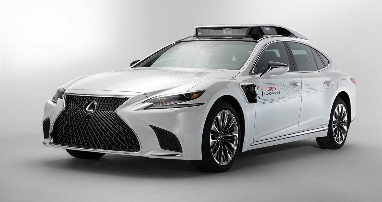 Lexus LS với công nghệ tự lái hoàn toàn sắp ra mắt