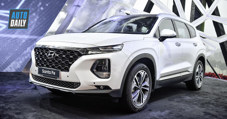 Đã có 3.000 đơn đặt hàng Hyundai Santa Fe 2019
