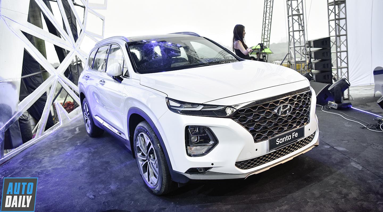 Hyundai SantaFe 2019 chính thức ra mắt, giá từ 995 triệu đồng