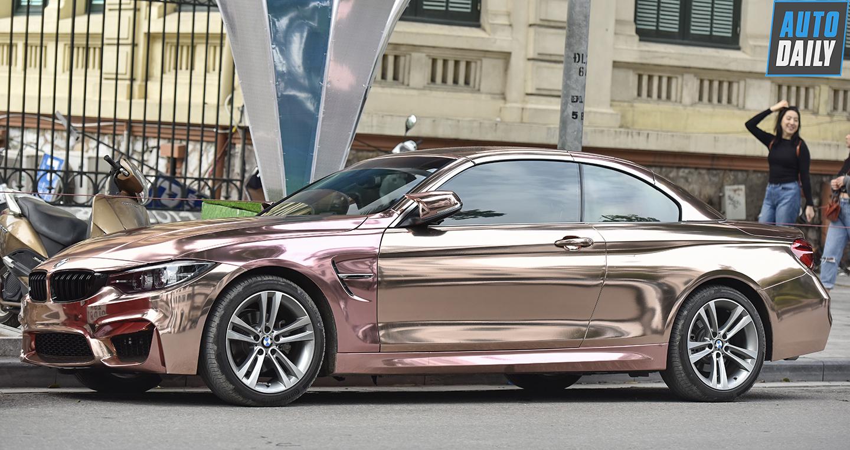 BMW 4-Series màu Rose Gold độc đáo của ca nương Kiều Anh
