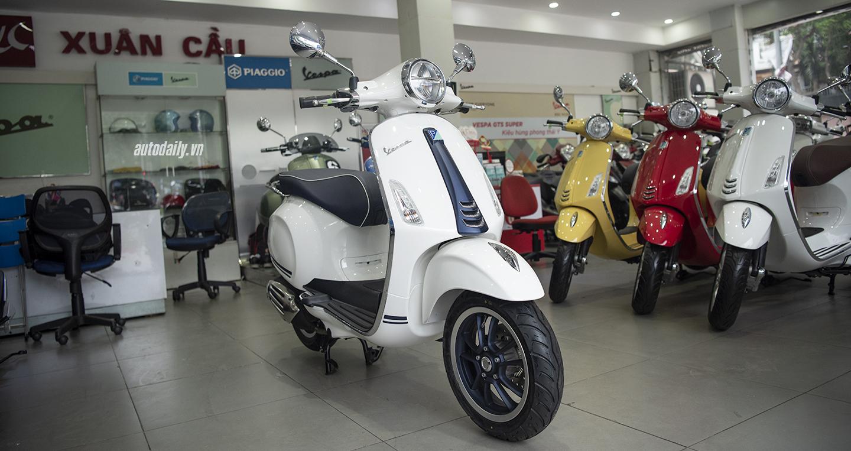 Xe Vespa giữ giá hơn 72% giá trị sau 3 năm dùng