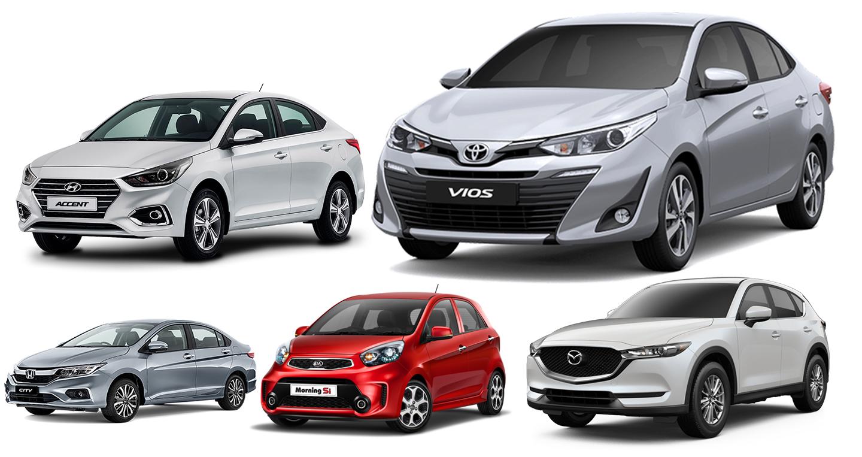 5 thương hiệu ôtô bán nhiều xe nhất tại Việt Nam 2018