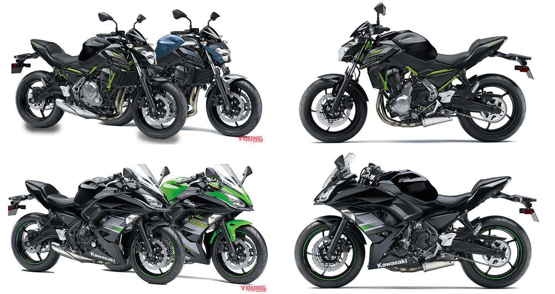 Bộ đôi Kawasaki Z650 và Ninja 650 2019 trình làng