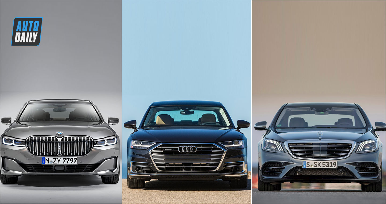 So sánh BMW 7-Series 2020, Audi A8 và Mercedes-Benz S-Class