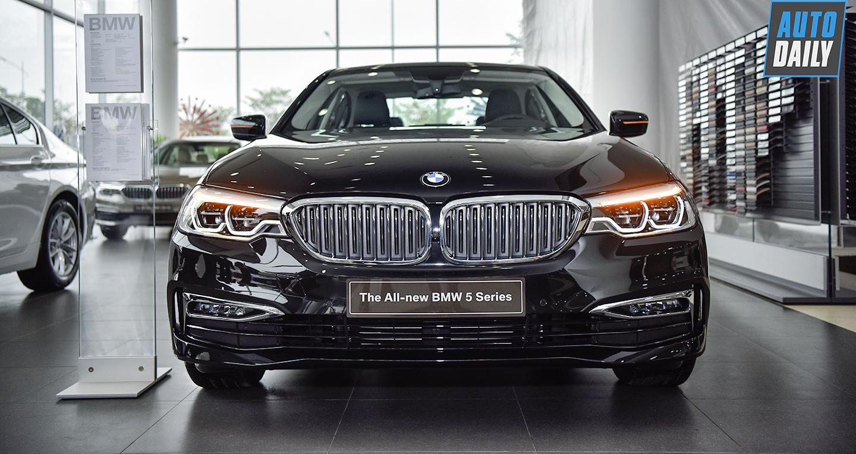 Chi tiết BMW 530i G30 giá 3,069 tỷ đồng tại Việt Nam