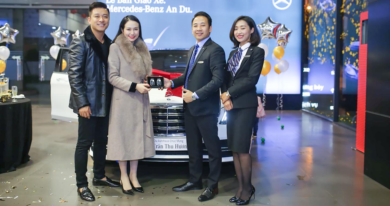 Vợ chồng Tuấn Hưng tậu Mercedes-Benz S450 L Luxury hơn 4,7 tỷ
