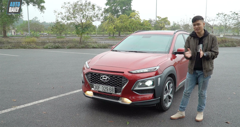 Đánh giá chi tiết Hyundai Kona 1.6 Turbo giá 725 triệu