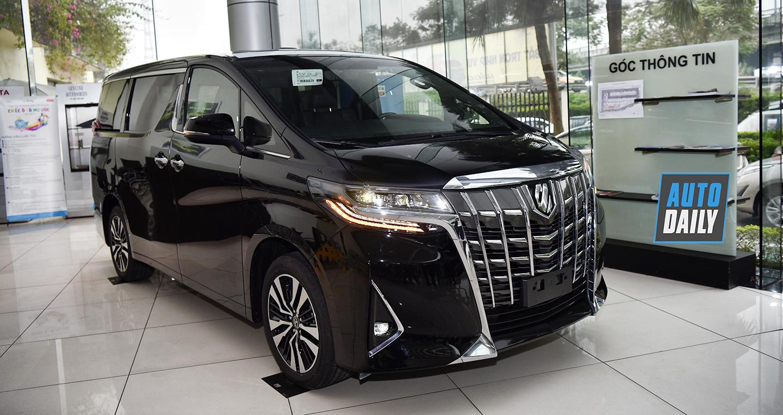 Chuyên cơ mặt đất Toyota Alphard 2019 giá hơn 4 tỷ về Việt Nam