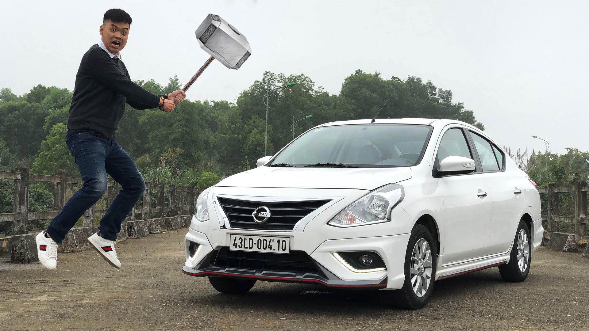 """Đánh giá Nissan Sunny Q-Series: """"Nồi đồng cối đá"""""""