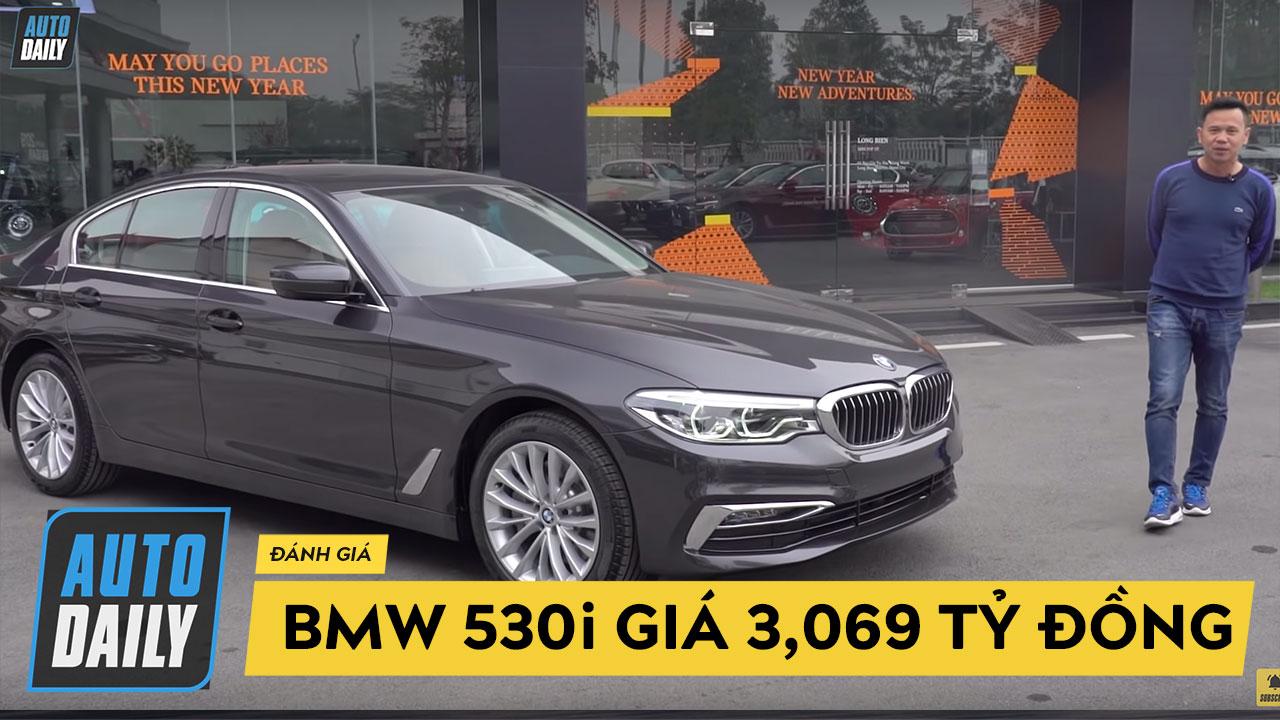 Giá 3,069 tỷ đồng, BMW 530i đời mới vừa về Việt Nam được trang bị những gì?