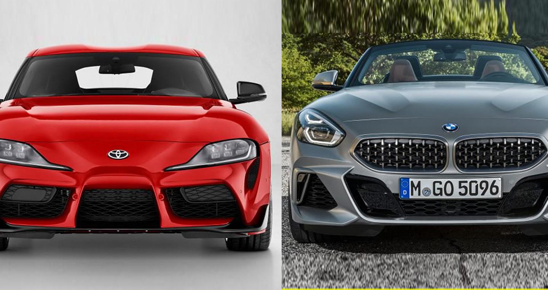 So sánh Toyota Supra và BMW Z4 hoàn toàn mới