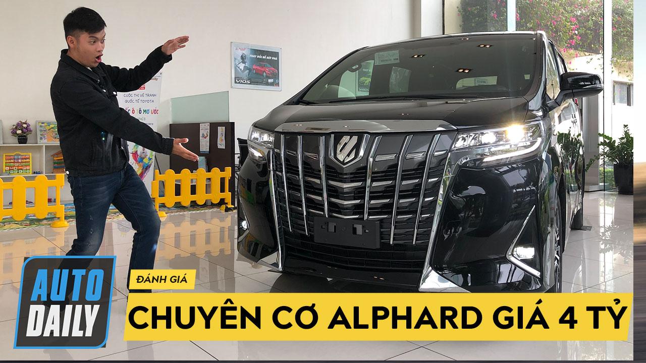 """Đánh giá chi tiết """"chuyên cơ"""" Toyota Alphard 2019 chính hãng giá hơn 4 tỷ đồng"""