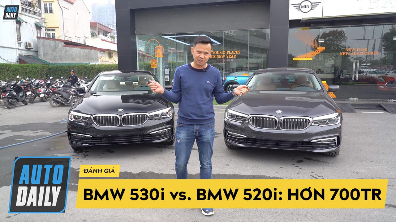 Chênh 700 triệu, BMW 530i và BMW 520i khác biệt như thế nào?