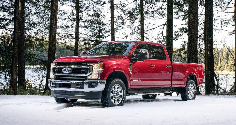 Ford F-Series Super Duty 2020 mạnh mẽ hơn với động cơ V8 mới