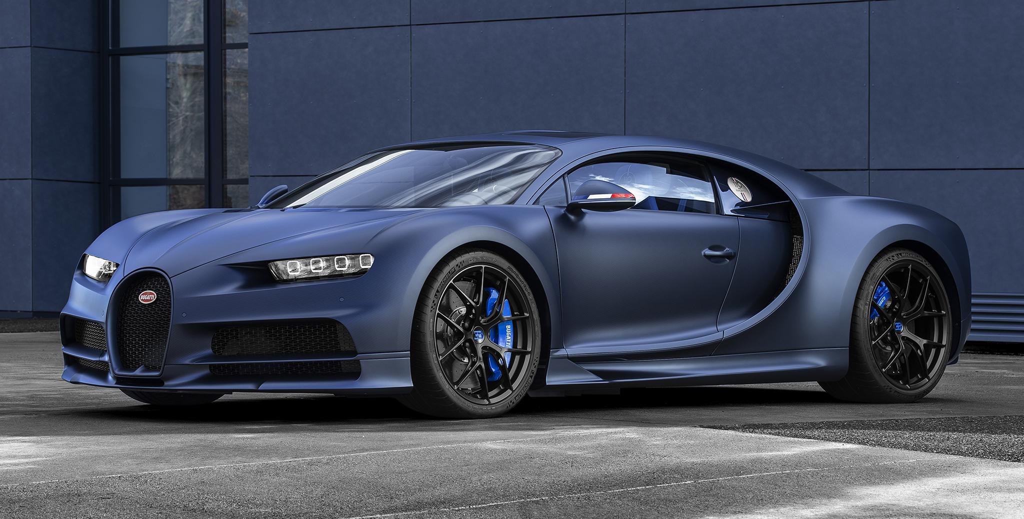 Bugatti Chiron phiên bản kỉ niệm sản xuất chỉ 20 chiếc
