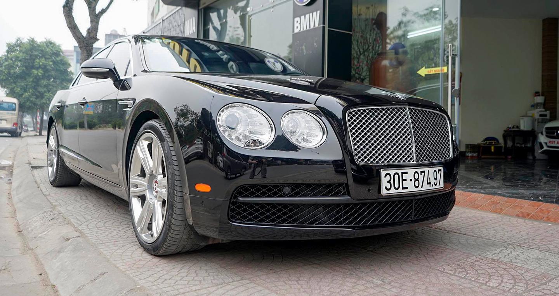 Bentley Flying Spur V8 đi lướt rao bán lại giá hơn 8 tỷ
