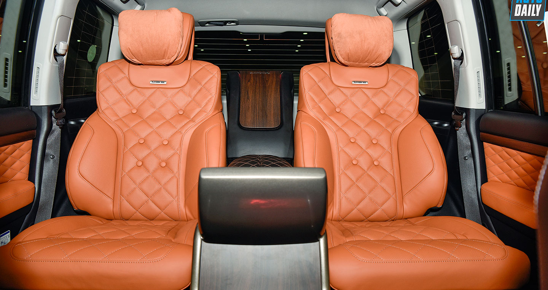 Toyota Land Cruiser độ 4 chỗ siêu sang về VN, giá cao hơn Lexus LX570 chính hãng