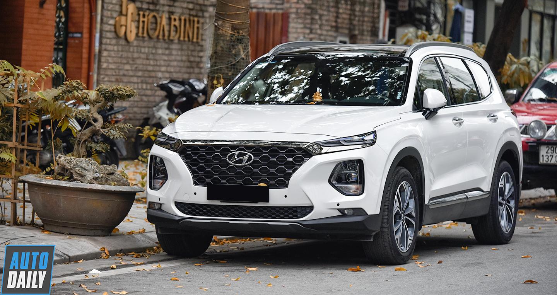 Hyundai SantaFe 2019 đạt doanh số ấn tượng tại Việt Nam
