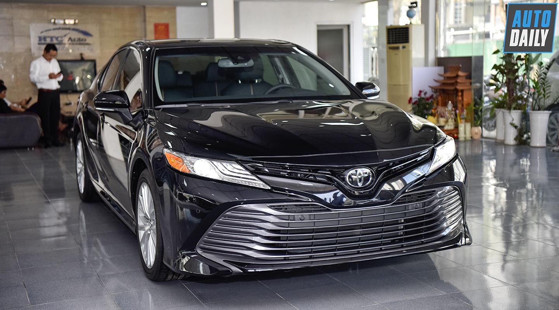 Toyota Camry 2019 bản Mỹ xuất hiện tại Hà Nội, giá hơn 2,5 tỷ