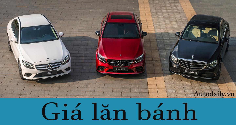 Giá lăn bánh các phiên bản Mercedes-Benz C-Class 2019 tại VN