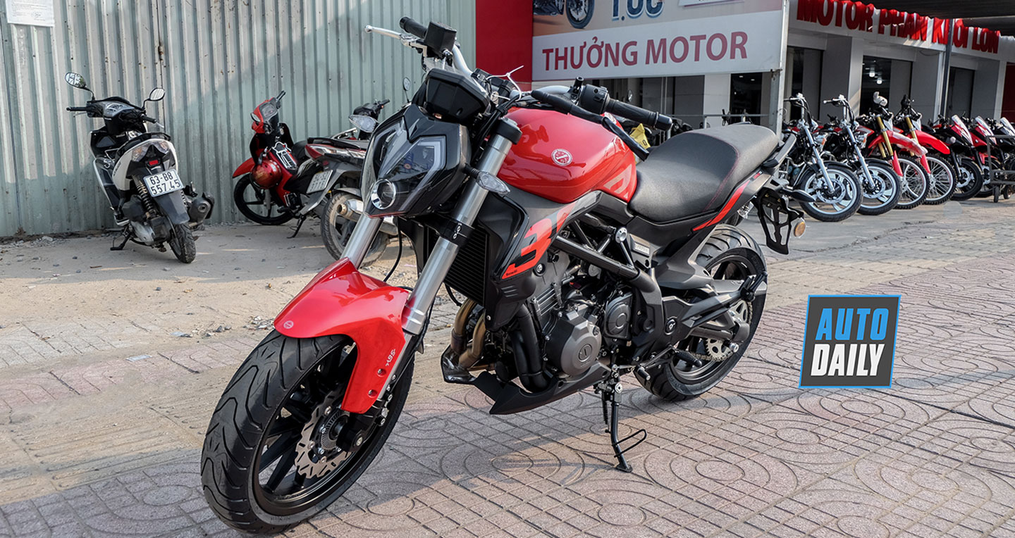 Ảnh chi tiết Benelli 302S ABS 2019