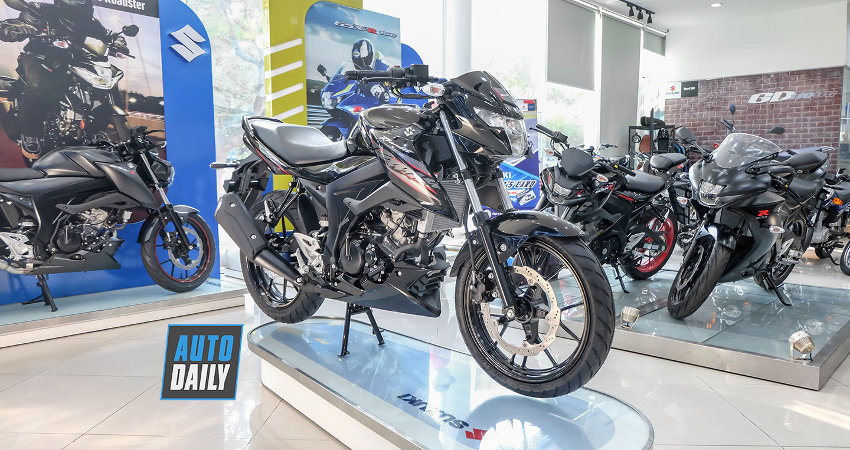 Chi tiết Suzuki GSX-150 Bandit chính hãng giá 69 triệu đồng