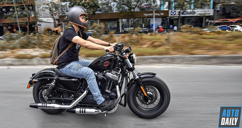 Đánh giá Harley-Davidson 48 2019: Xe Mỹ giá hợp lý cho dân chơi Việt
