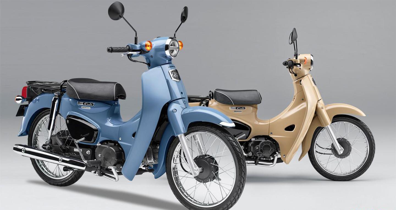 Honda Super Cub 50/110 Street có thêm màu mới, cá tính hơn