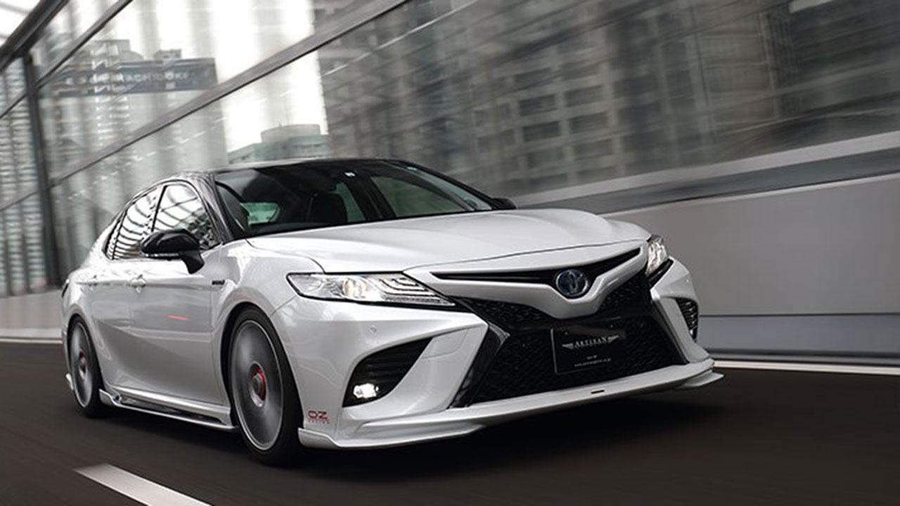 Toyota Camry 2019 bản độ Artisan Spirits: Đẹp và đậm chất Lexus
