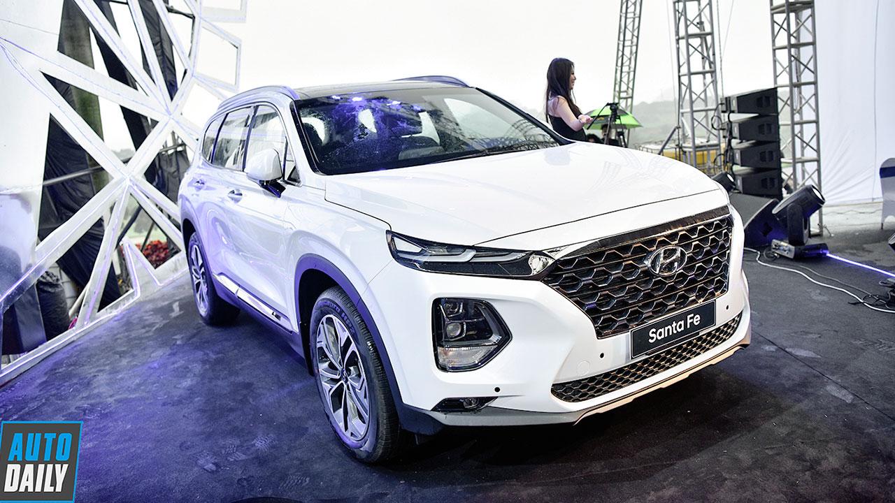 Phân khúc SUV 7 chỗ ngồi đầu năm 2019: Tân binh Hyundai Santa Fe 'lên đồng'