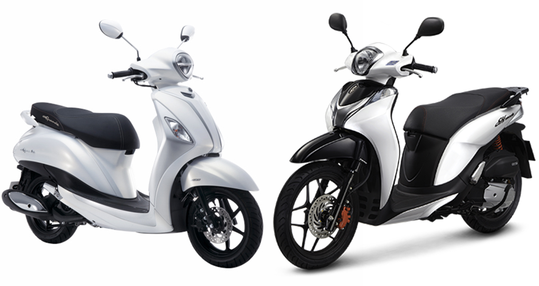 Hơn 50 triệu chọn Honda SH Mode CBS hay Yamaha Grande 2019?