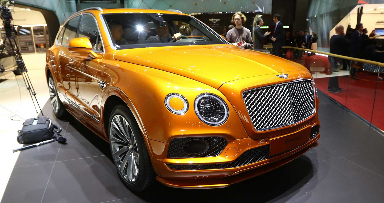 Diện kiến SUV nhanh nhất thế giới Bentley Bentayga Speed