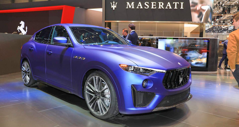 Maserati ra mắt Levante Trofeo Launch Edition sản xuất 100 chiếc