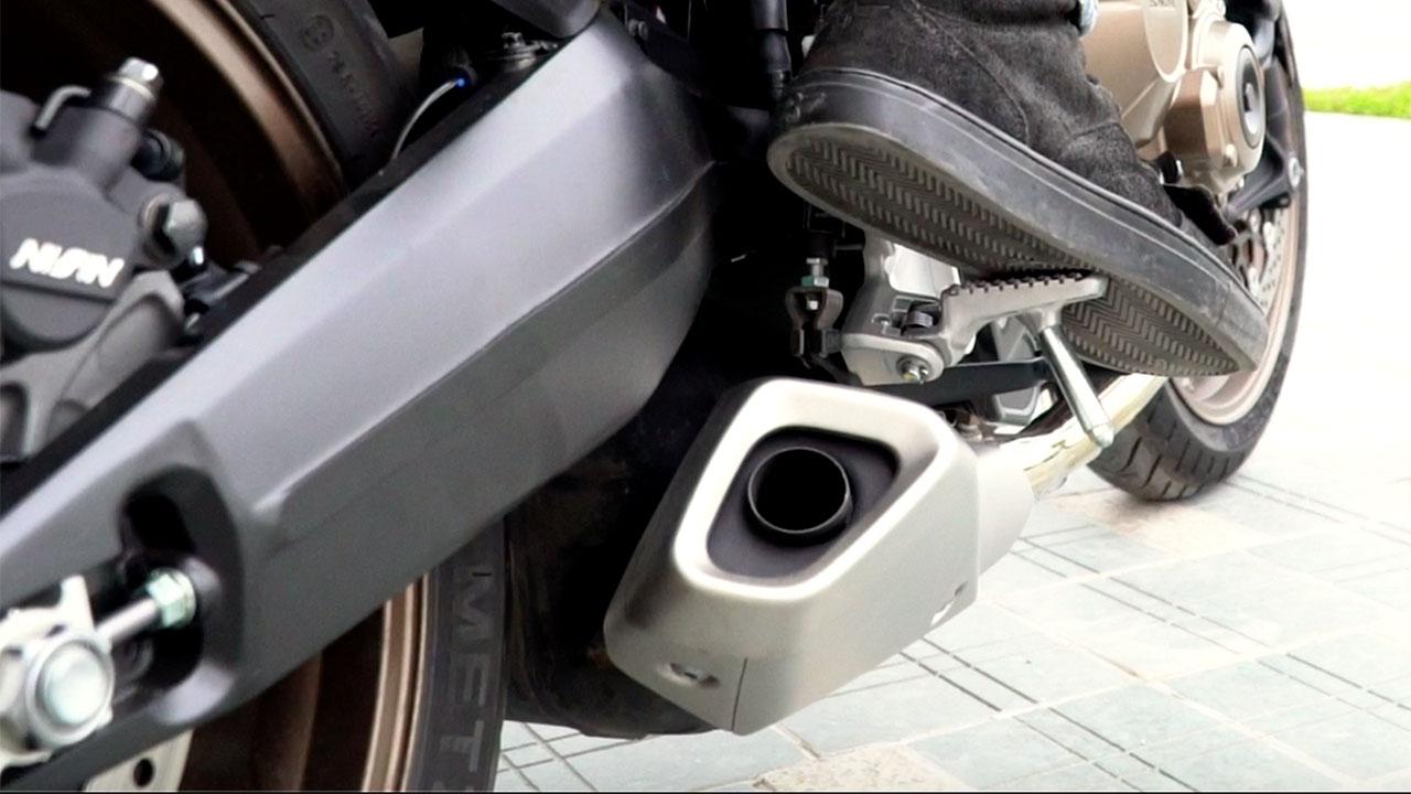 Test tiếng pô và máy zin Honda CB650R 2019