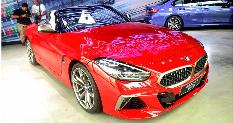BMW Z4 2019 chào Đông Nam Á, giá từ gần 3 tỷ đồng