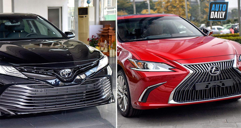 Tầm giá 2,5 tỷ đồng, chọn Lexus ES 250 chính hãng hay Toyota Camry 2019 nhập Mỹ