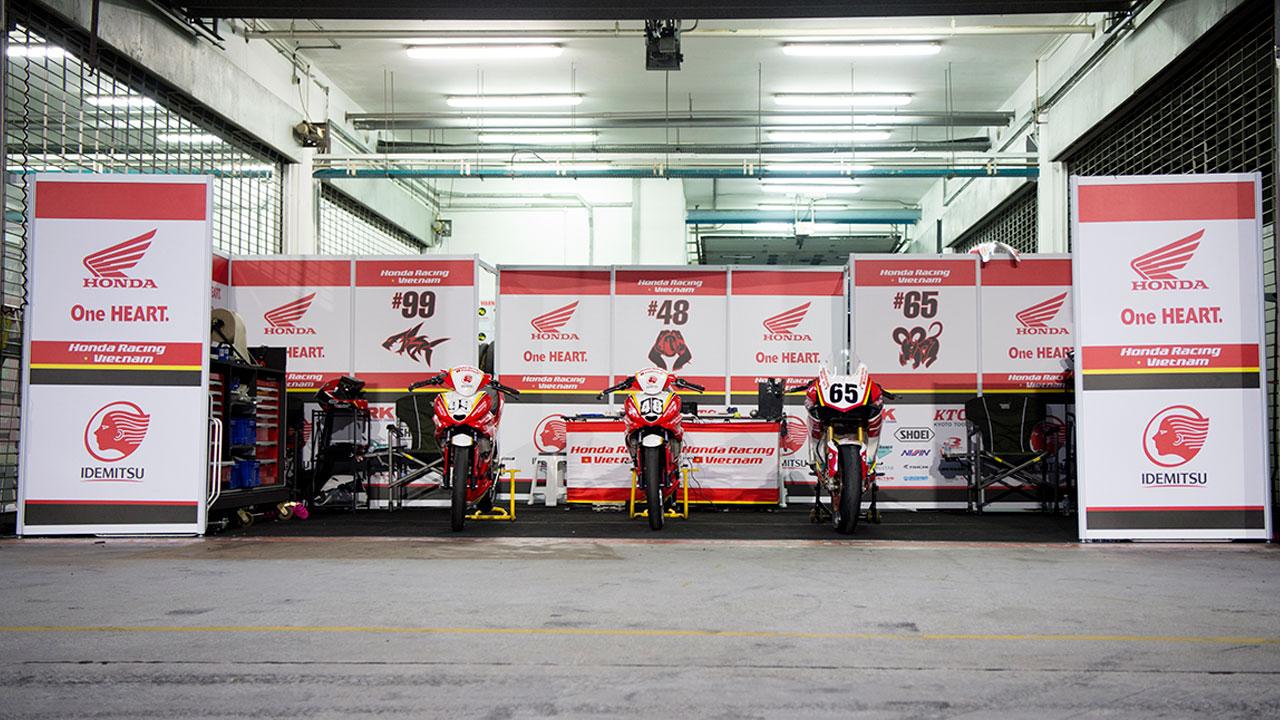Honda Racing Vietnam: TÂN BINH giải đua xe mô tô châu Á ARRC