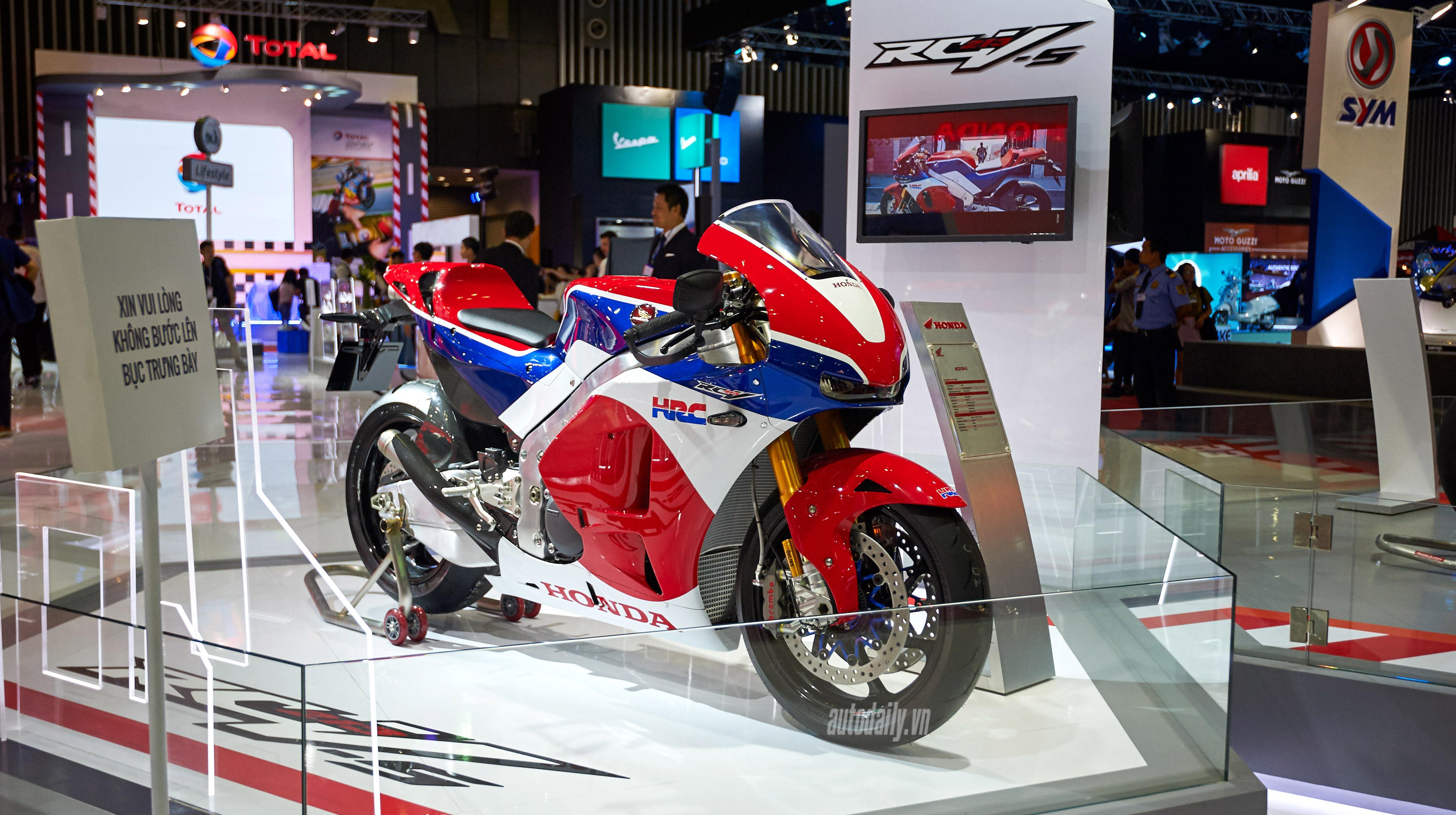 Cơ hội trải nghiệm siêu mô tô Honda RC213V-S tại Biker Day 2019