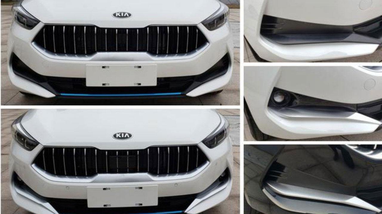 Kia K3 2019 dành cho thị trường Trung Quốc sở hữu ngoại hình táo bạo