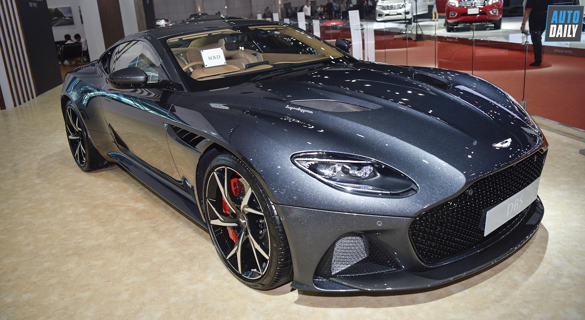 Chiêm ngưỡng siêu xe Aston Martin DBS Superleggera giá 21 tỷ tại Thái
