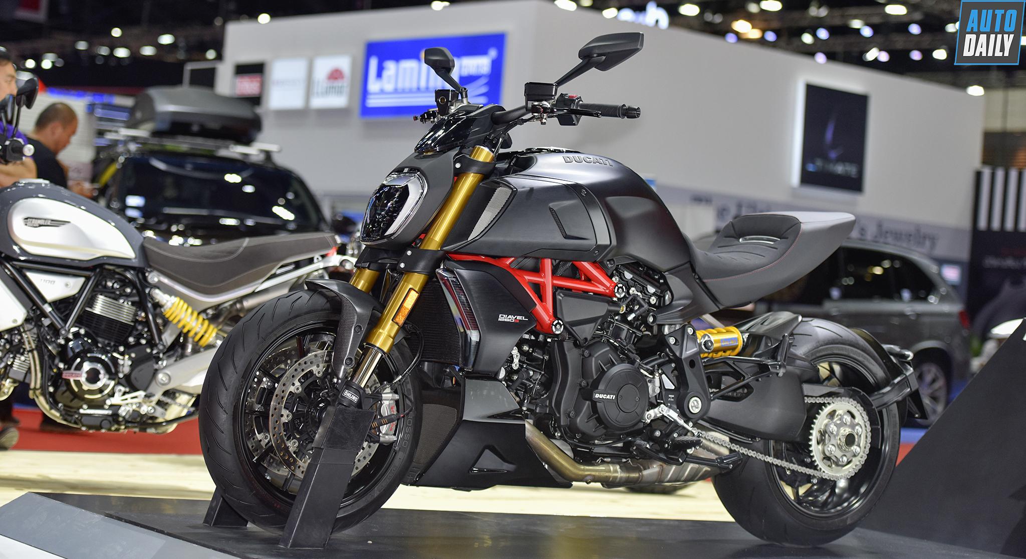 """""""Tàu tuần dương"""" Ducati Diavel 1260S 2019 cập bến thị trường ĐNÁ"""