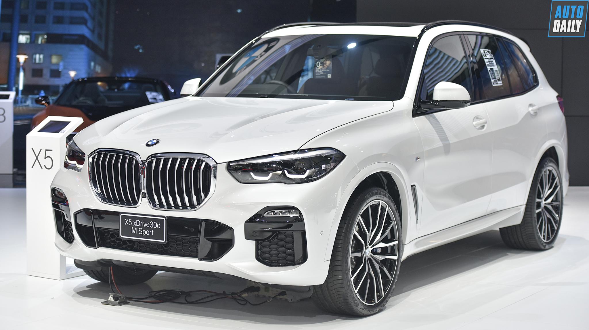 Chi tiết BMW X5 2019 giá 4,15 tỷ đồng tại Thái Lan, chờ ngày về VN