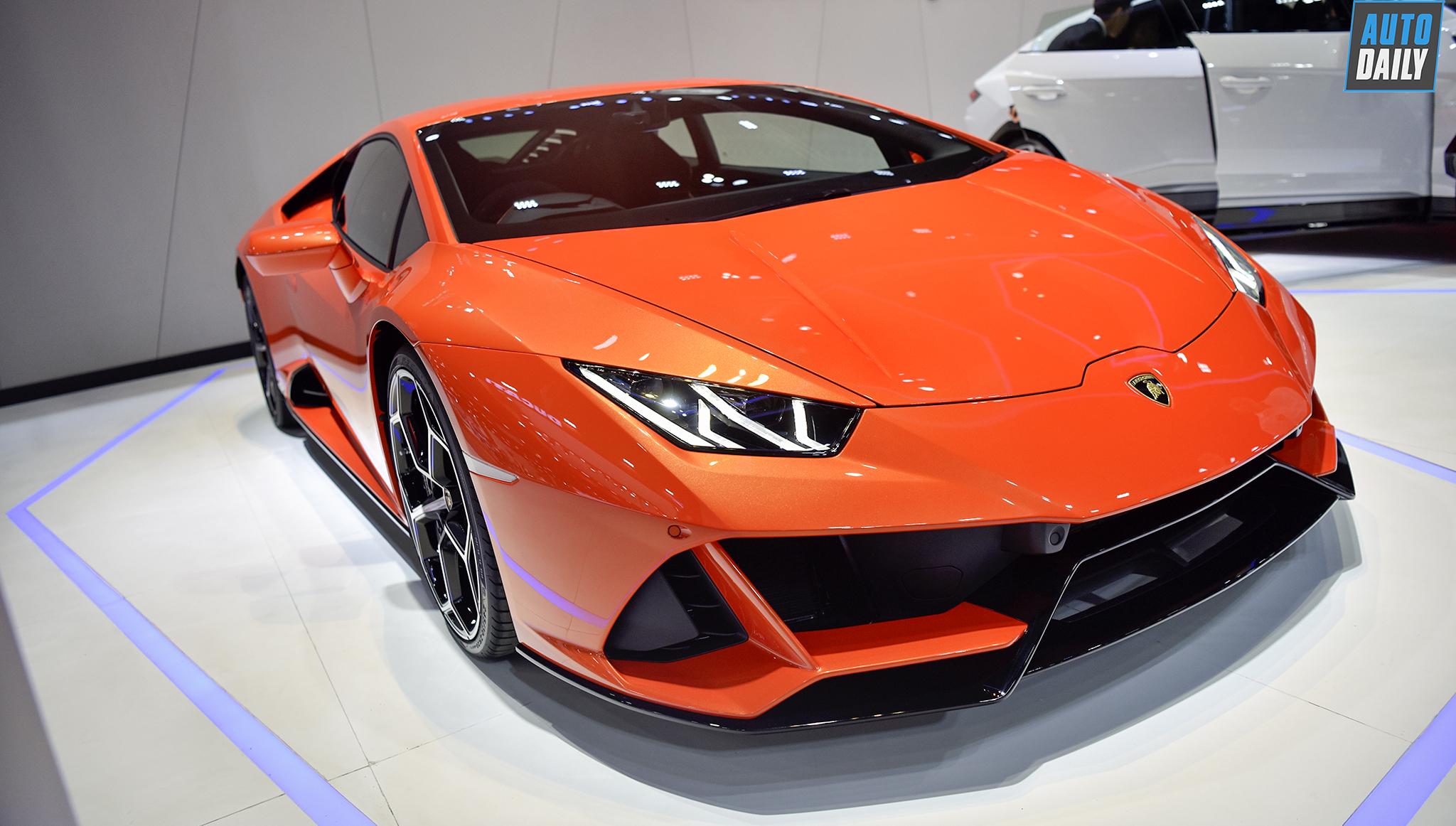 Lamborghini Huracan EVO 2020 ra mắt tại Thái Lan, giá từ 18 tỷ đồng