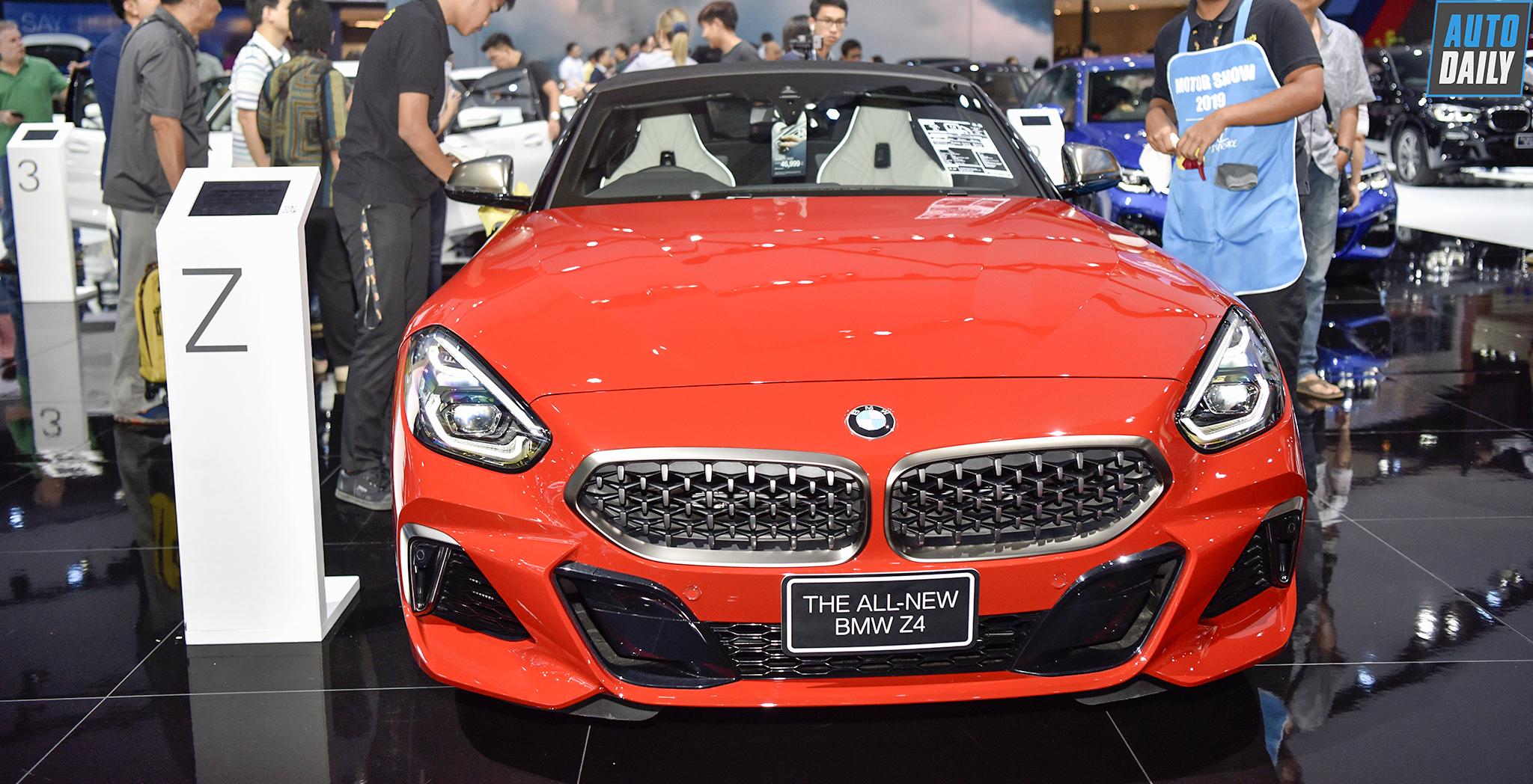 """Đánh giá nhanh BMW Z4 2019: """"Hớp hồn"""" phái đẹp"""
