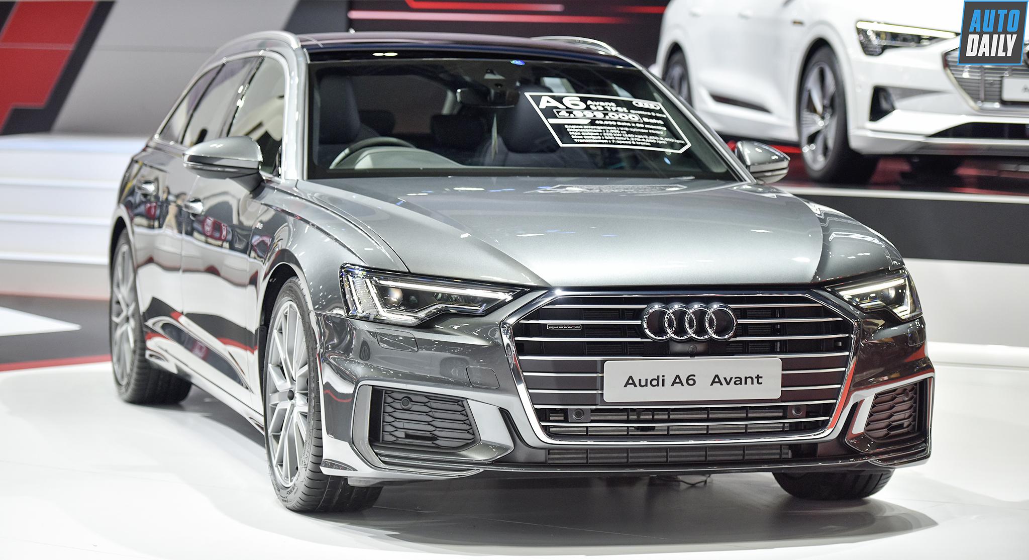 Khám phá Audi A6 Avant 2019 với thiết kế ấn tượng