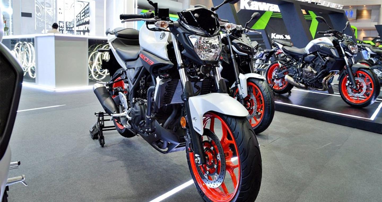 Cận cảnh Yamaha MT-03 2019 mang diện mạo mới nổi bật hơn
