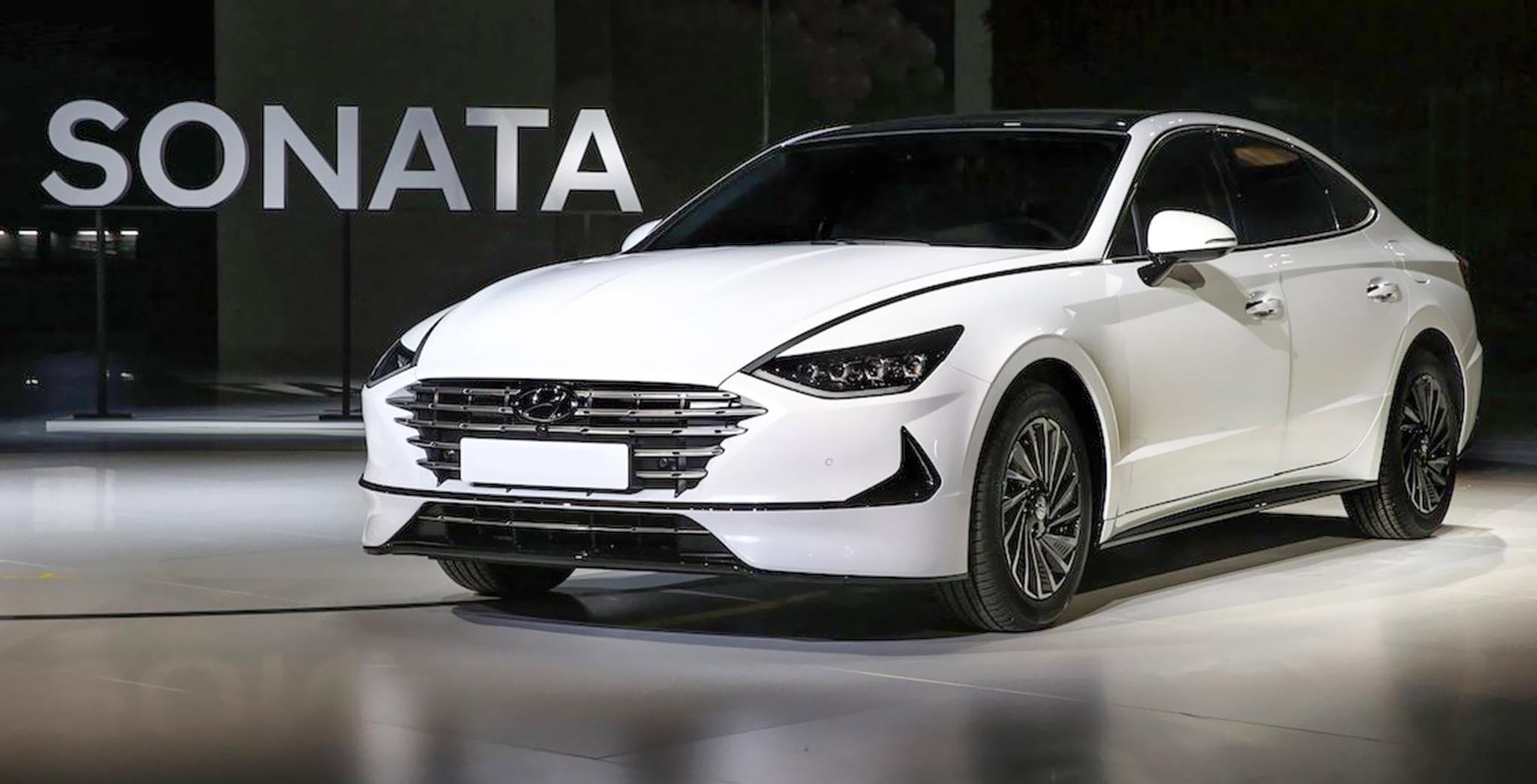 Choáng với những trang bị như xe sang trên Hyundai Sonata 2020